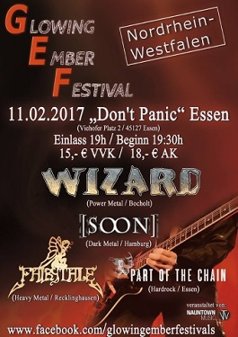 Wizard soon live tour glowing ember festival 2017 nrw