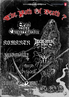 aeon of disease discreation live tour deathmetal
