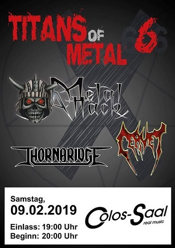 cervet metal attack thornbridge titans of metal colossaal