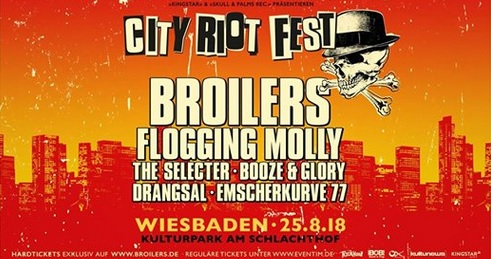 flogging molly broilers live tour germany schlachthof programm