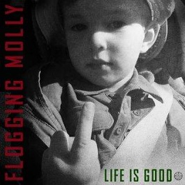 flogging molly live is good cd review album