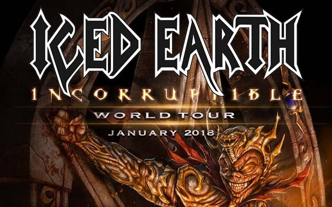 iced earth world tour germany wiesbaden 2018