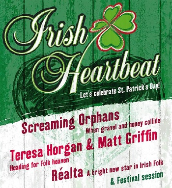 irish heartbeat st patricks day party
