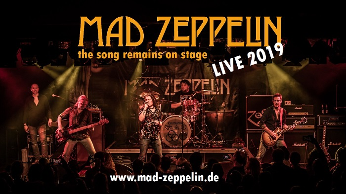 mad zeppelin live tour tribute 7erclub mannheim