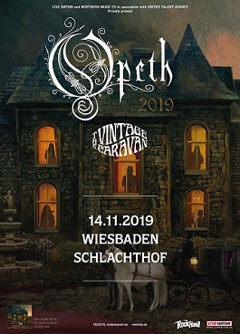 opeth live tour germany schlachthof wiesbaden progressive metal