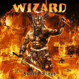 Wizard fallen kings cover album review