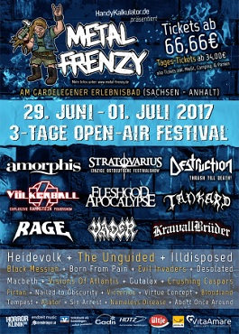 metal frenzy 2017 open air festival