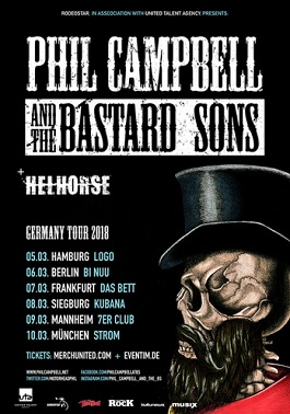 phil campbell live tour germany 2018