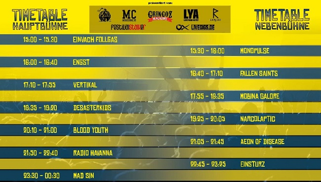 visbek rockt open air festival 2019 timetable